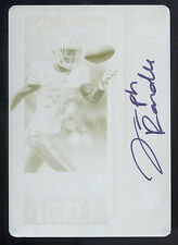 2013 Contenders #215 Joseph Randle Yellow Printing Plate Rookie Autograph #1/1