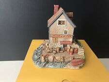 """Lilliput Lane L2120 """"Lobster at the Pier"""" Original Box with Deed"""