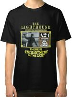 The Lighthouse Black  T-Shirt S to 2XL