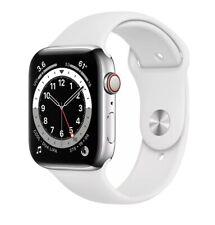 Apple Watch Series 5 40mm White Stainless Steel Case White Unlocked Smart Watch