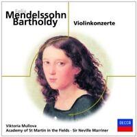 MULLOVA/AMF/MARRINER - MENDELSSOHN-VIOLINKONZERTE  CD NEUF