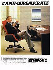 PUBLICITE ADVERTISING  054  1979  STRAFOR   mobilier bureau 6