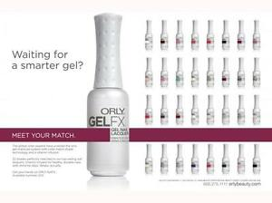 Orly Gel Fx Soak Off Gel - Complete Collection