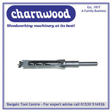 "CHARNWOOD Professional Quality Hollow Square Mortice Chisel & Bit Set 3/4"" Size"