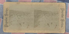 Old Stereoview Popular Series  Hand Written Among the ????