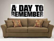 """A DAY TO REMEMBER MOSAIC 48""""X16"""" WALL POSTER METALCORE N2"""