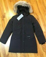 New Canada Goose Trillium Parka Coat Womens Black 6660L Coyote Down Free Ship