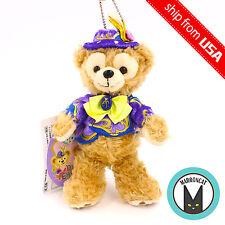 Japan Tokyo Disney Sea 2017 Easter Duffy Bear Plush Doll Chain Badge Phone Charm