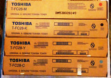 New Toshiba T-FC28 toner set of 4 for e-studio 2330c, 2830c, 3530c, 4520c copier