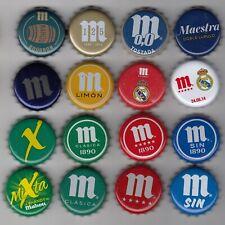 descuento en envios CAPSULE Chapas Cerveza Mahou Real Madrid Atleti Bottle cap