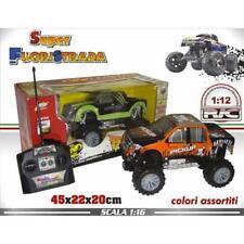 Rc Auto Jeep Fuoristrada Radiocomandato Scala 1:12 Macchina Gioco Bambini dfh