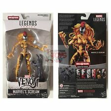 "SCREAM + BAF PIECE Marvel Legends HASBRO 2018 VENOM 6"" Inch ACTION FIGURE"