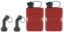 2x FuelFriend®-PLUS 1 Liter Klein-Benzinkanister Reservekanister Motorrad Roller