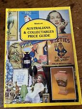 Australiana & Collectables Price Guide Book by David Westcott 1986 Bottles &c