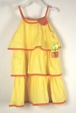 New Penelope Mack Dress Sz 5 Yellow Orange Girls