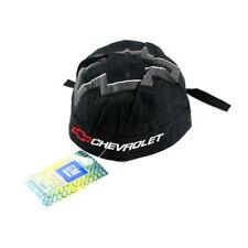 Grey Black Chevy Racing Team Biker Doo Rag Headwrap Skull Cap Sweatband Capsmith