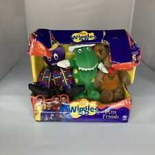 New listing The Wiggles Mini Friends Henry Octopus Dorothy Dinosaur Wags Dog Plush Toys 2003