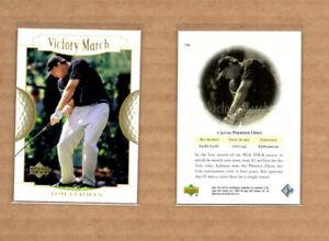 "2001 Upper Deck #154 Tom Lehman VM GOLF ""ERROR CARD"""