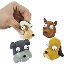 6 Vinyl Dogs With Pop-Out Eyes