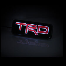 TRD Logo Car Front Hood Grille Emblem LED Light for Toyota Corolla Camry Tundra