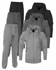Foundation Jog Suit hooded Fleece Full TrackSuit jkt+pants junior to 5XL ADULTS