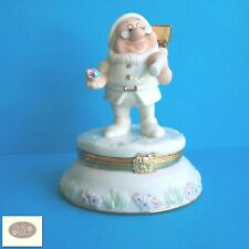 "Lenox & Disney Seven Dwarfs Doc Treasure Trinket Box, 4"" High w/ Charm"