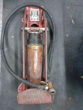 More details for vintage duplex kismet master brass bodied foot pump