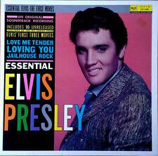 ELVIS PRESLEY - ESSENTIAL ELVIS / THE FIRST MOVIES  - 10 UNRELEASED TRACKS - LP