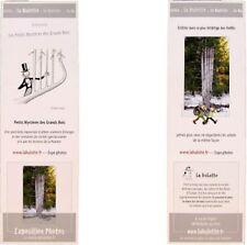 Marque-page signet revue La Hulotte 1988 Petits Mystères des Grands Bois arbre