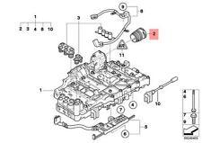 Genuine BMW E81 E82 E83N E84 E88 Transmission Valve Body Seal OEM 24157572607