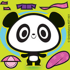 10 Panda Bear  Make Your Own Stickers Party Favors Birthday Teacher Supply