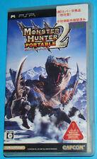 Monster Hunter Portable 2nd - Sony PSP - JAP Japan