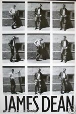 "JAMES DEAN ""9 SHOTS OF JAMES STANDING BY WALL"" POSTER FROM ASIA"