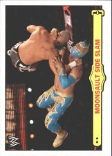 2012 Topps Heritage WWE Ringside Action #41 Sin Cara/ Moonsault Side Slam