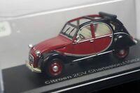 Citroen 2CV Charleston 1982 1/43 Scale Box Mini Car Display Diecast Vol 290