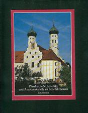 Luteranas San Benedicto Benediktbeuern anastasiakapelle obras fotos 1973