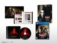 PS4 Nioh Complete Edition with Mini Booklet Soundtrack CD