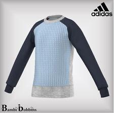 Adidas Performance Girls AA Sweater Jumper Top Age 5-6-7-8-9-10-13-14-15 Years