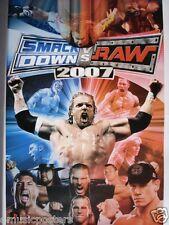 "SMACKDOWN vs RAW ""COLLAGE OF WRESTLING SUPERSTARS"" POSTER-John Cena, Batista,Rey"