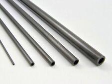 1000mm Lengths Pultruded Carbon Fibre Tubes: 2, 2.5, 3, 4, 5, 5.5, 6, 8,10,12mm