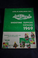 1969 Edelman Shooting Supplies Catalog Hunting Fishing gun rifle pistol lure fly