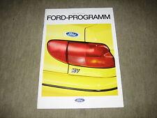 Ford Fiesta, Escort, Mondeo, Scorpio, Explorer Prospekt Brochure von 2/1994