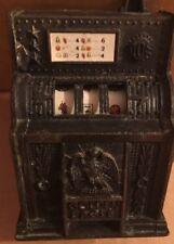 Vintage Die Cast Metal Slot Machine Pencil Sharpener Made In Hong Kong