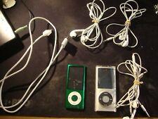 Apple iPod Nano Lot 2 Total 8 Gb & 16Gb