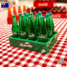 Coles Little Shop 2 Fan Favourites -Mini Soda Bottles with Crate - 1:12