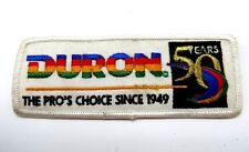 """Duron Paint 50 Years Embroidered Patch 4.5"""""""
