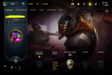 League of Legends Account   LoL Acc   NA   Unranked   25 champ 9 skins