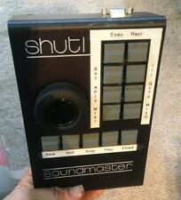 Soundmaster Shutl jog shuttle knob ION ATOM machine control synchronizer 9-pin
