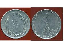 TURQUIE   2 1/2  lira 1960