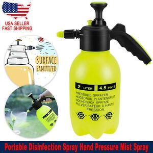 Portable Air Hand Pressure Spray Bottle Mist Pump Spray Gardening